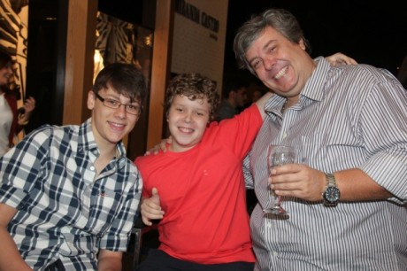 Leonardo Padilha Segredo, Luciano Segredo Jr e Luciano Segredo