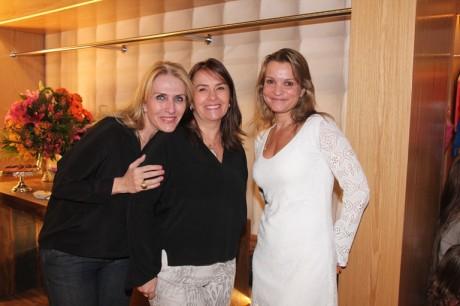 Rose Fischborn, Roseana Pingret e PAtricia Filomeno